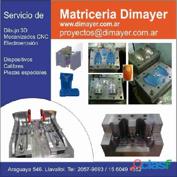 Fabricacion de moldes de inyeccion plastico matriceria dimayer