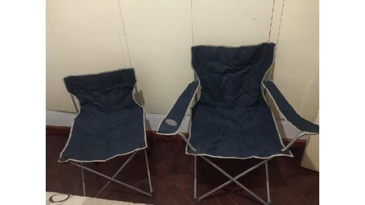 Sillas de camping x 2 = $4.000