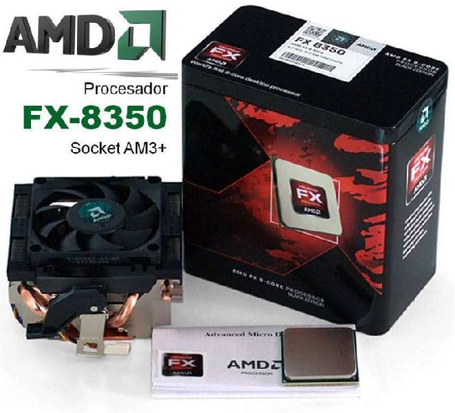 Procesador amd + 8gb ram