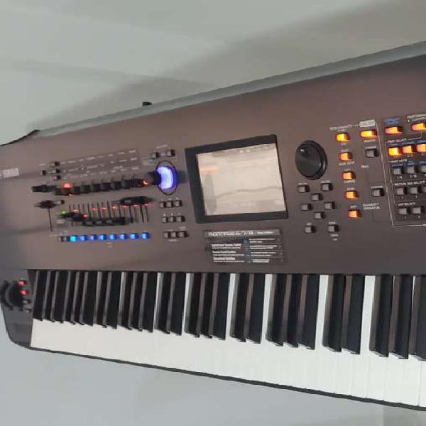 Vendo sintetizador yamaha montage 8
