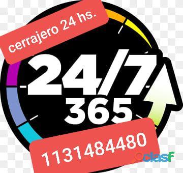 Cerrajero de urgencias 24hs en zona sur 1131484480