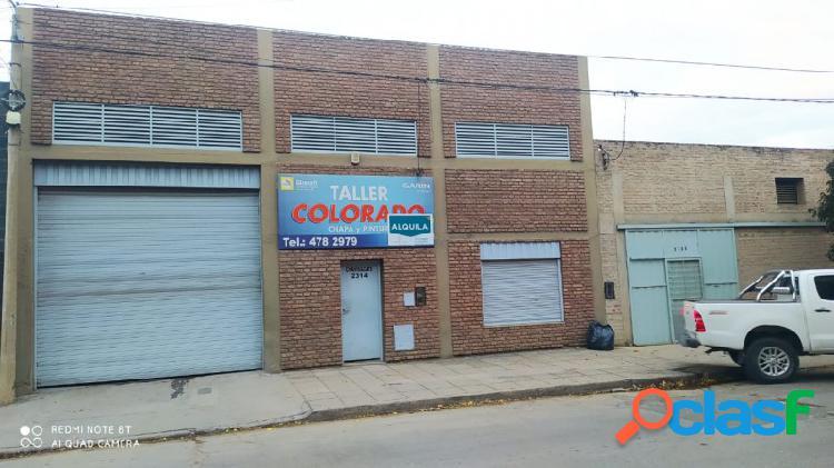 Alquilamos galpón, con oficina en barrio Talleres 2