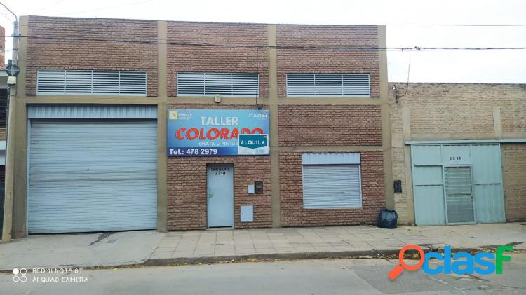 Alquilamos galpón, con oficina en barrio Talleres 3