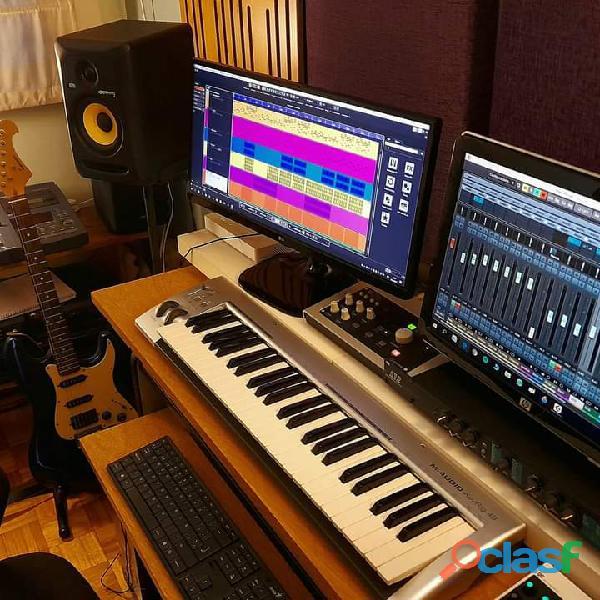 Estudio de producción musical 1