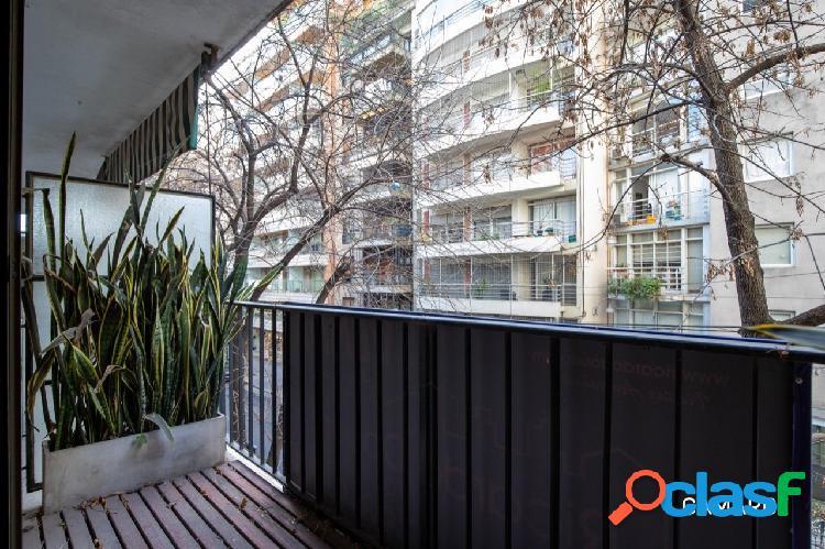 Venta Depto Apto Profesional 1 Ambiente Balcón al Frente Las Cañitas 3