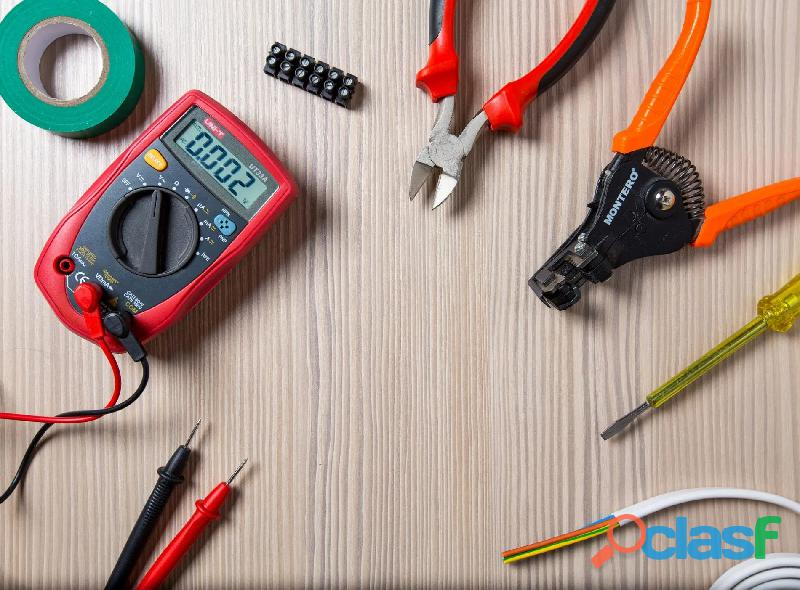 Electricista urgencias [ reparaciones   instalaciones ] zona sur