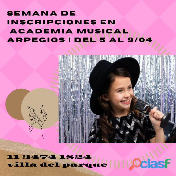Clases canto on line castings amateurs actores