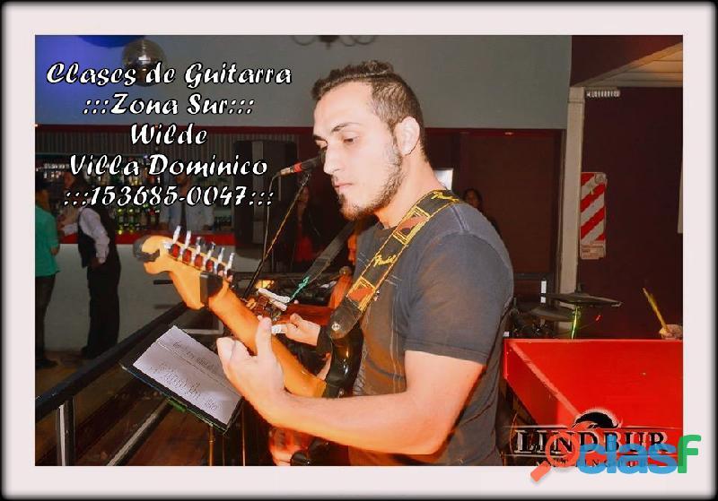 Clases de Guitarra Online y Presenciales 1