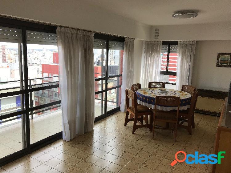 Departamento 3 ambientes balcón externo cubierto y vista al mar - venta