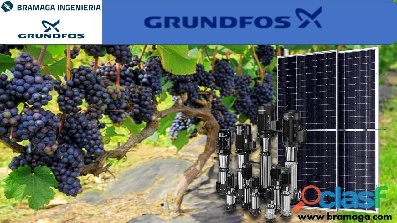 Bombas de agua solares, grundfos.