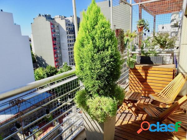 Venta Loft 2 Ambientes con Cochera en Villa Crespo 2