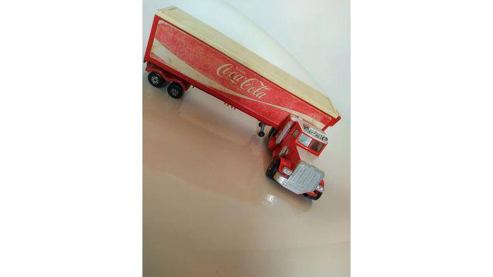 CAMION TRAILER COCA COLA TRUCK K31 VINTAGE MATCHBOX SUPER