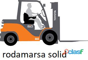 ELASTIC CUBIERTA maciza 650X10 RODAMARSA