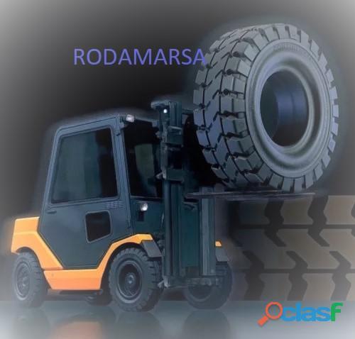 ELASTIC CUBIERTA maciza 400//500//650//700 825X15 RODAMARSA