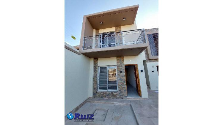 Ruiz inmobiliaria alquila duplex en barrio chilcani villa