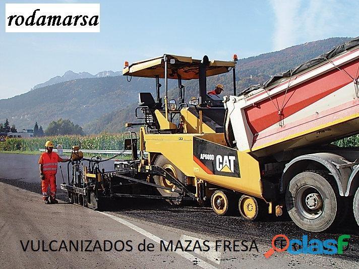 BITELLI MAZA VULCANIZADO de FRESADORA RODAMARSA