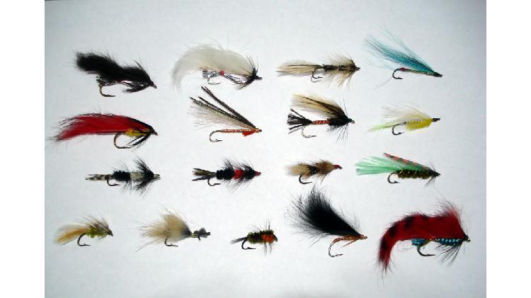 Moscas para trucha y otros peces (x 17u)