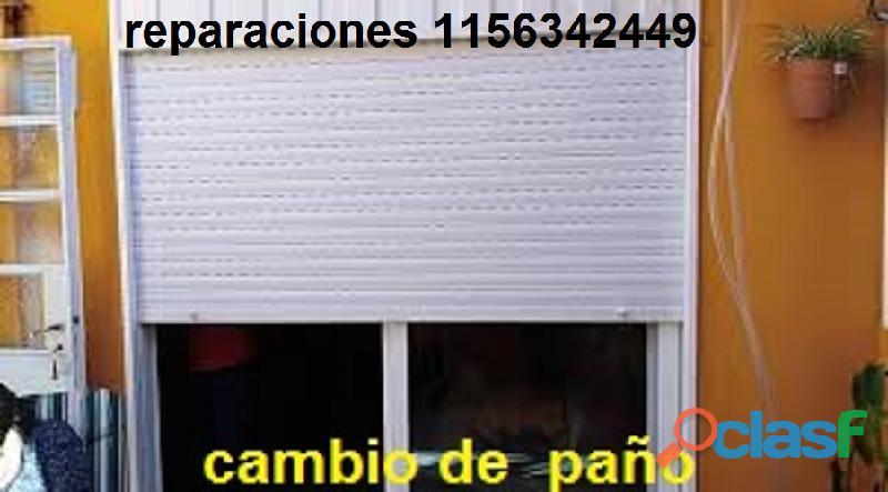 Cambio de cinta para cortina de enrollar domiciliario 1156342449