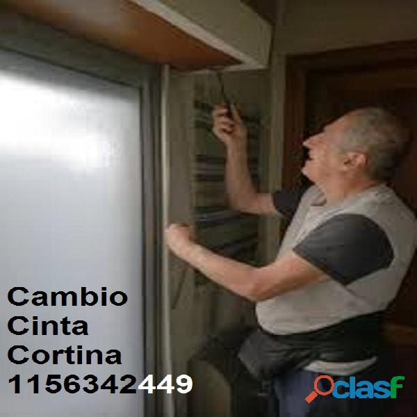 Cambio de cinta para cortina de enrollar domiciliario 1156342449 1