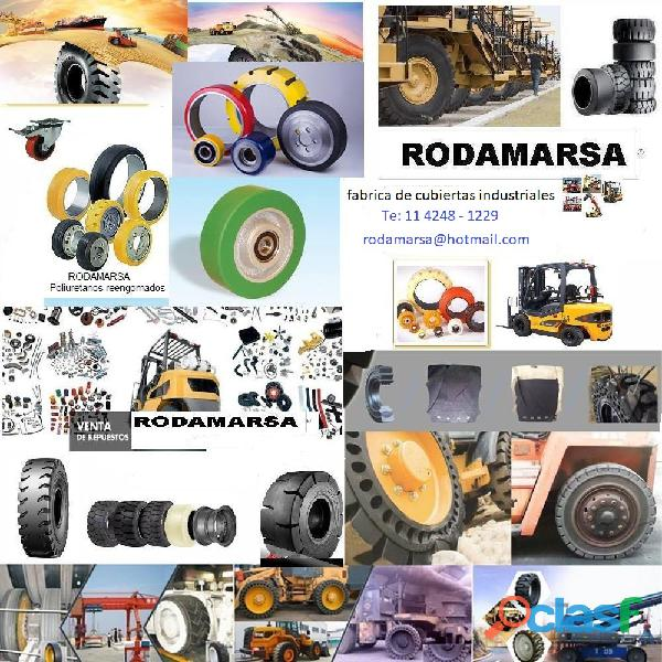 ECOLOGIC 22x12x16 Solid Tires Rodamarsa 11