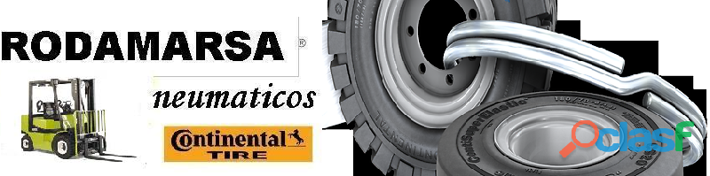 ECOLOGIC 22x12x16 Solid Tires Rodamarsa 9