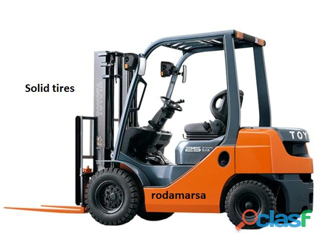 ECOLOGIC 22x12x16 Solid Tires Rodamarsa 2