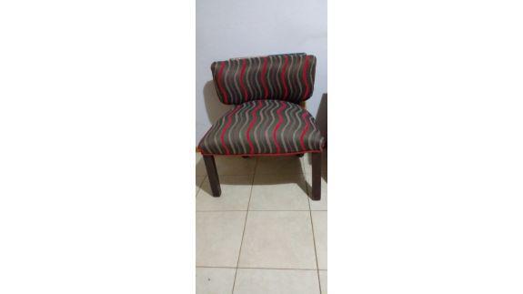 Vendo sillon tapizado en tela