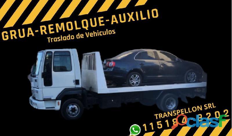 Remolque auxilio traslado de vehiculos caba