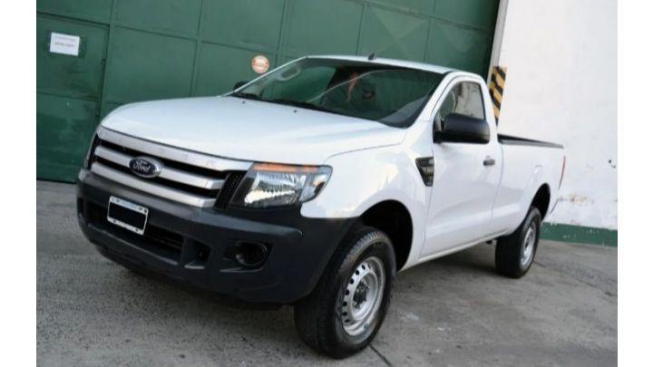 Ford ranger cabina simple 4x2 safeti vendo urgente