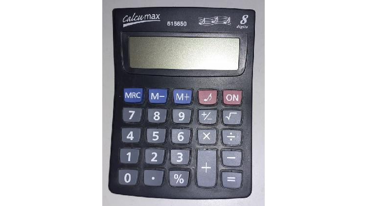 Vendo calculadora calcumax 515650