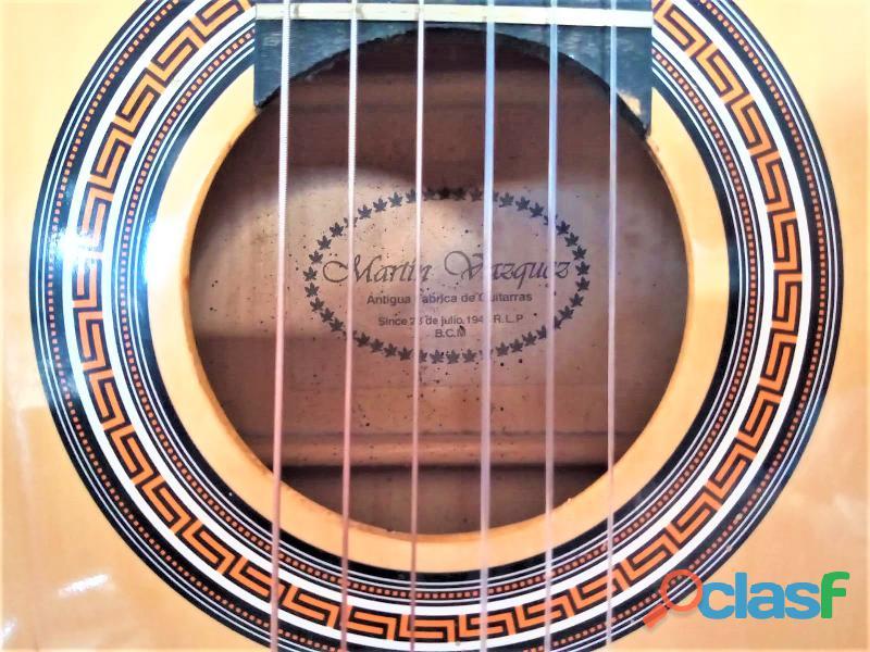 Guitarra clásica Martin Vásquez 3