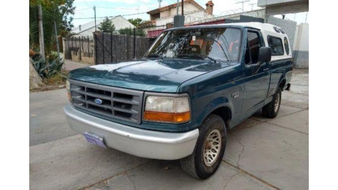 Ford f100 xlt motor mwm diésel turbo 4x2 impecable