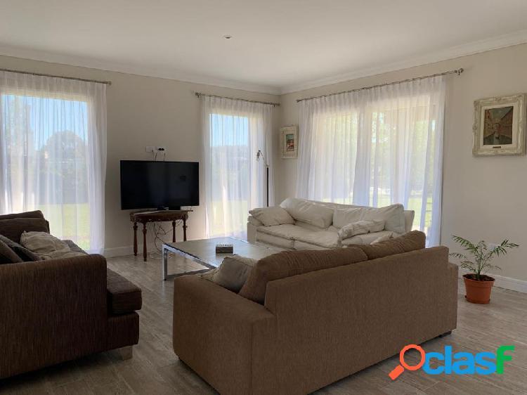 Casa en alquiler temporario barrio privado rumenco