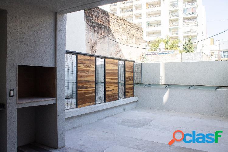 Cabrera 3768   monoambiente/studio a estrenar   patio con parrilla propia