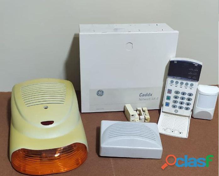 Kit Alarma General Electric Networx Nx 4 (Caddx Nx 4)