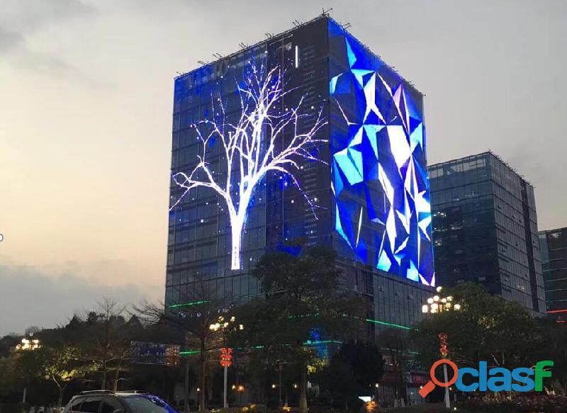 Fabricante de Pantallas LED publicitarias para interior y exterior 2