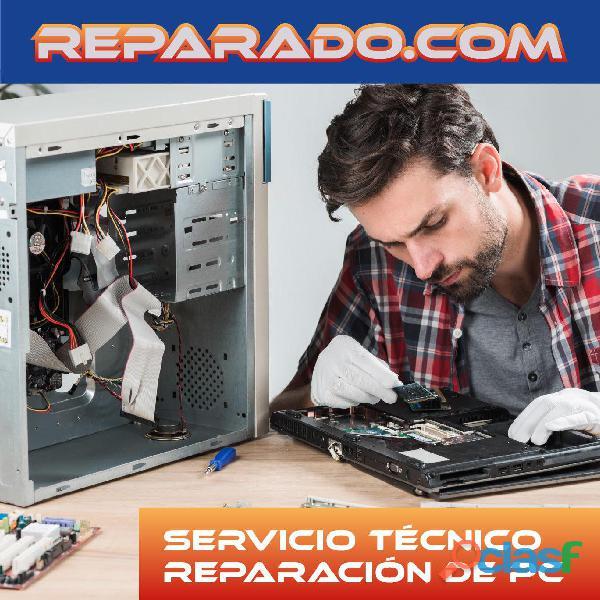 Reparaciones pc. Reparado.com Cruce Castelar/ Moreno/ San Miguel