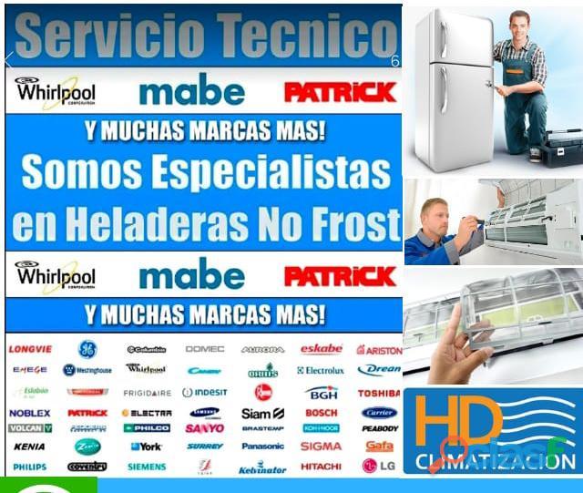 servicio tecnico heladera motor a domicilio 7