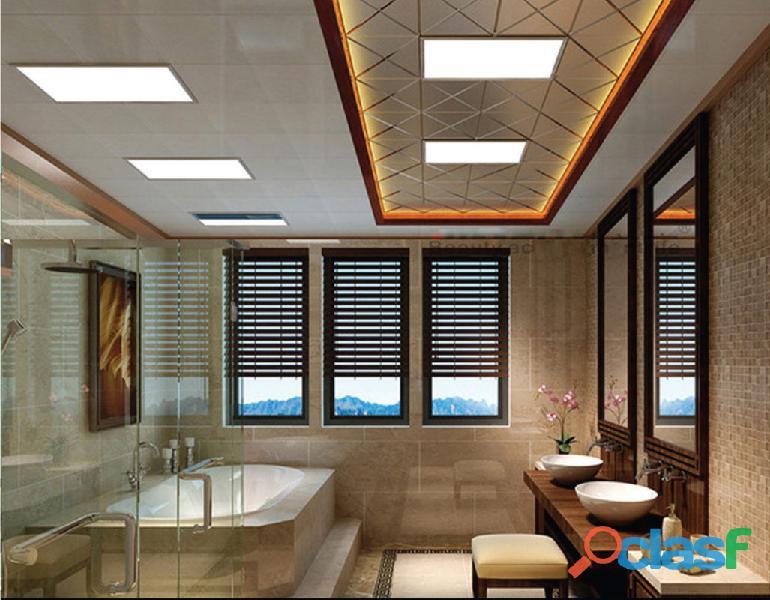 Luz LED de panel plano,Panel De Luz 300x 300 y 600x600 2