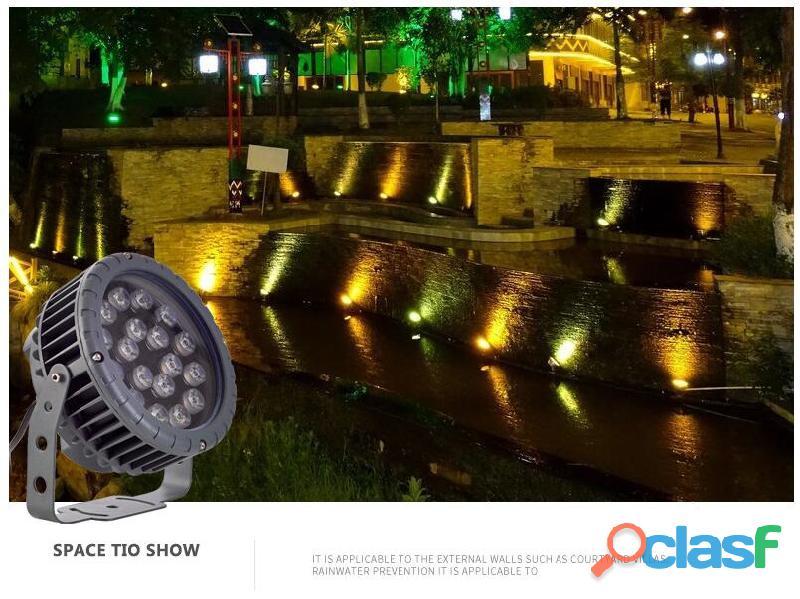 Proyectores LED Exterior y Jardín,Focos LED 4