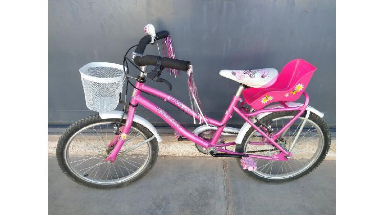 Bicicleta nena rodado 20 casi nueva
