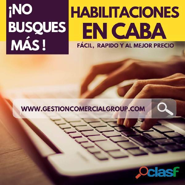 Habilitaciones Comerciales en CABA