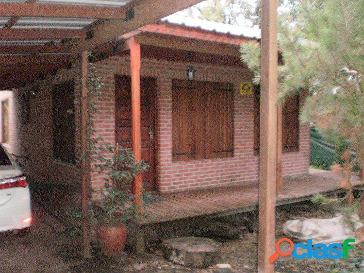Casa 3 ambientes con dep. pileta. bosque peralta ramos.