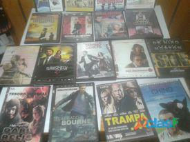 Lote 54 películas para Dvd  en buen estado Usadas todas con su cajita y estuche