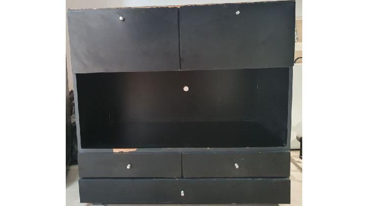3 cuerpos de mueble para comedor (tv-equipo de