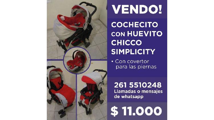 COCHECITO CON HUEVITO CHICCO SIMPLICITY
