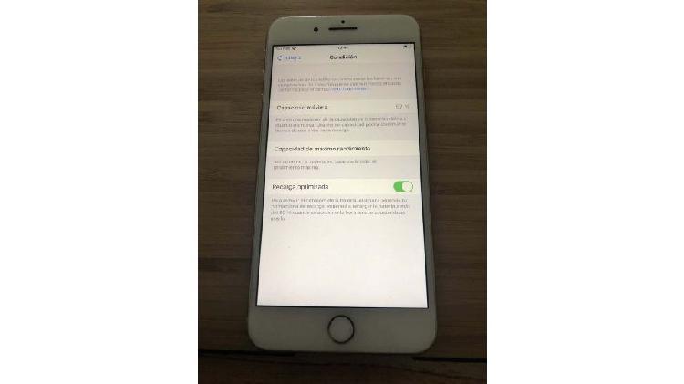 Iphone 8 plus - rosado - excelente estado a nuevo