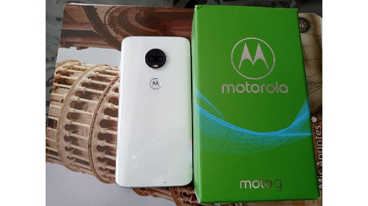 Moto g7 impecable!!!