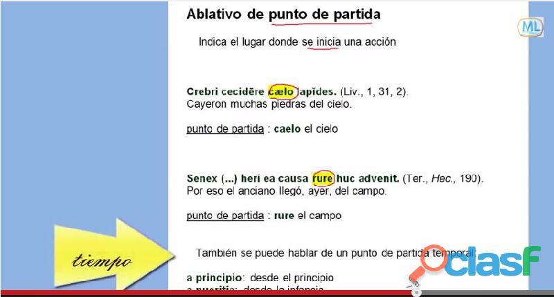 Latín  Lengua y cultura
