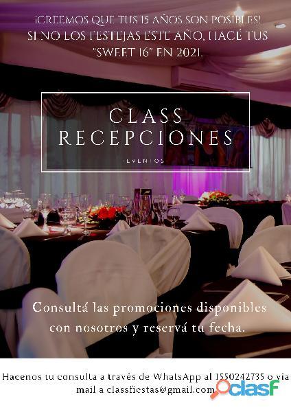 Multiespacio 15 años Salón Fiestas Casamientos Flores Capital Federal 2